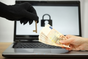 Infektion durch Ransomware